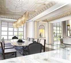 上海别墅装修之北欧简约时尚风案例