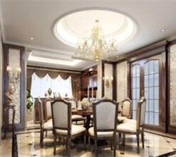上海别墅装修之美式别墅装修案例
