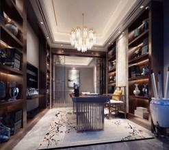 上海别墅装修之新中式风格案例