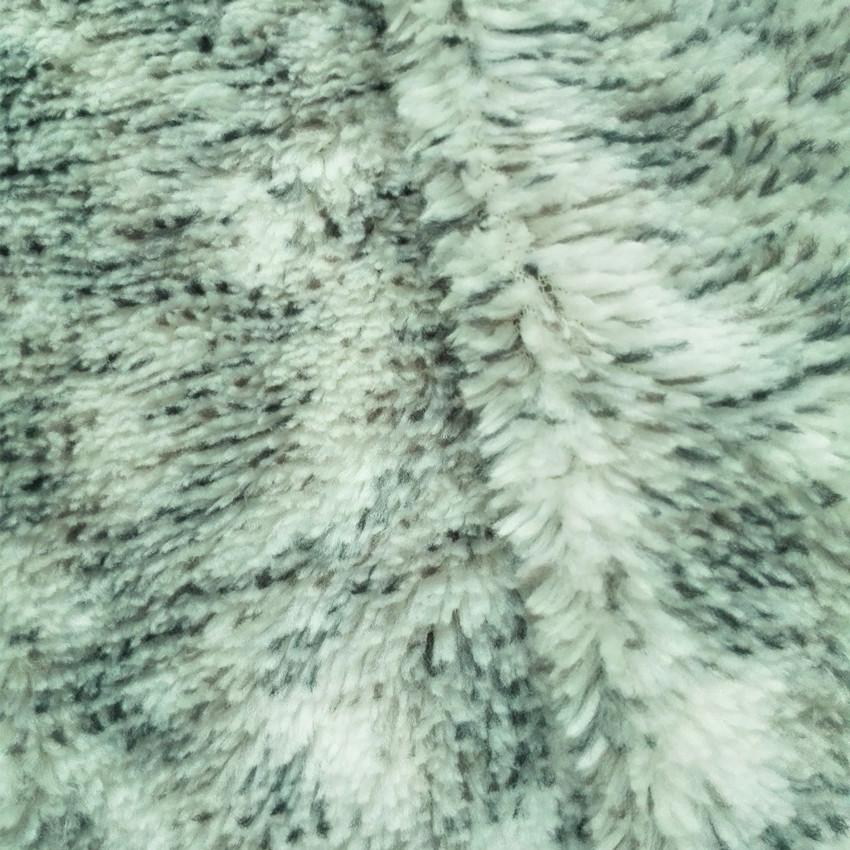 新品绒布现货 服装玩具宠物衣服拖鞋提花彩色长毛绒面料