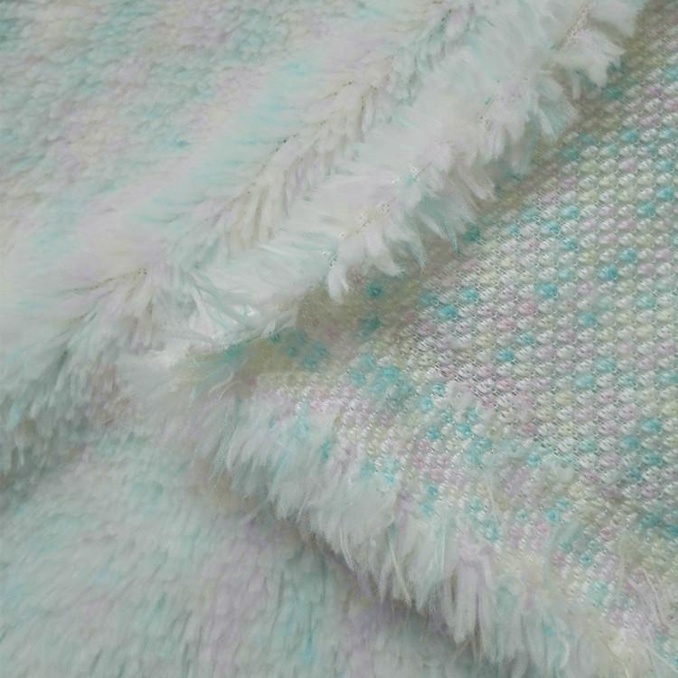 新品毛绒 服装玩具宠物衣服拖鞋提花迷彩色单面法兰绒面料