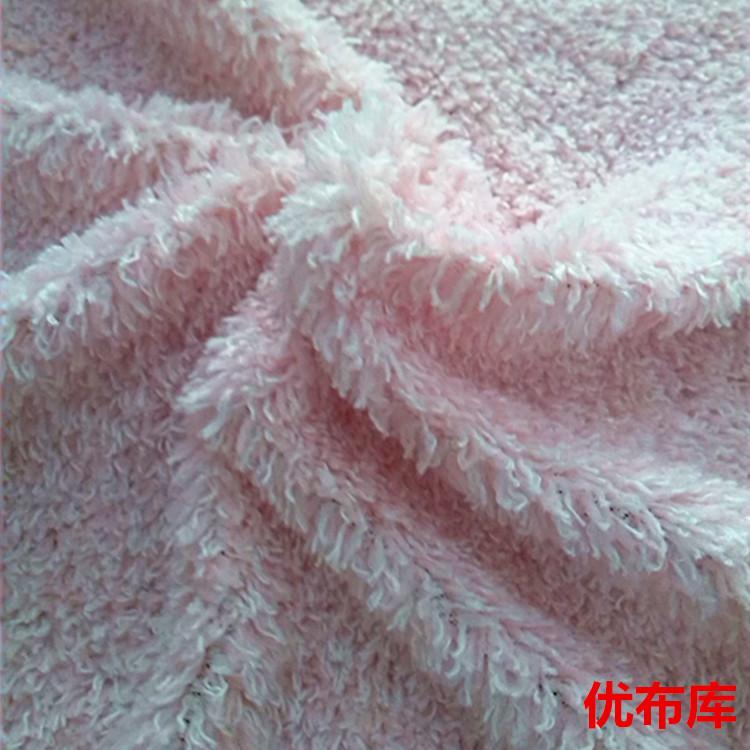现供毛绒布料首饰品装饰布背景展示手机柜台布摆地摊毛绒布料