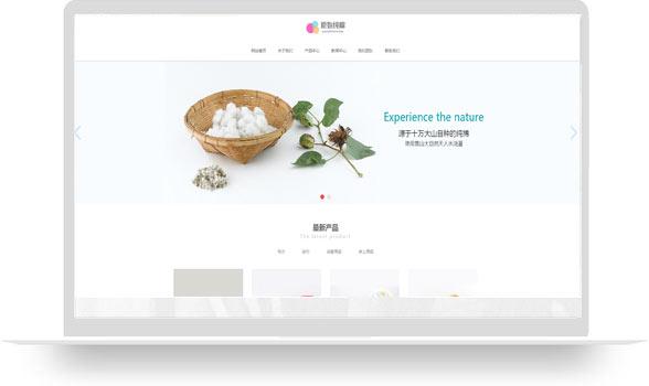 纺织行业网站展示